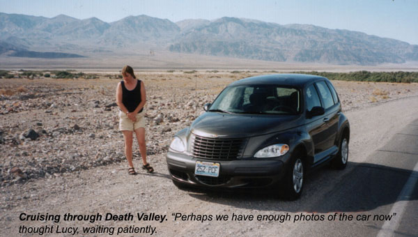 Lucy and the PT Cruiser
