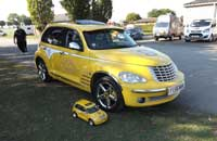 Christine's Rout 66 PT Cruiser